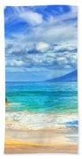 Private Beach At Wailea Maui Bath Towel