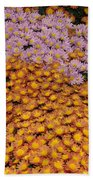Profusion In Yellows Pinks And Oranges Bath Towel