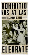 Prohibition Ends Celebrate Hand Towel