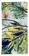 Protea Repens Maui Hawaii Sugarbush Bath Towel