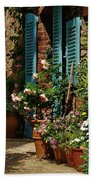 Provencal Alley Bath Towel