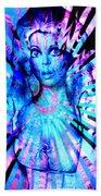Psychedelic Barbie Bath Towel
