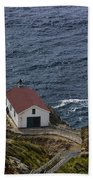 Pt Reyes Lighthouse Bath Towel
