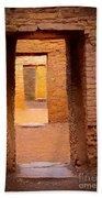 Pueblo Doorways Bath Towel