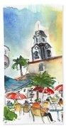 Puerto De La Cruz 01 Bath Towel