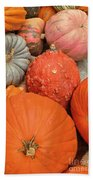 Pumpkin Happy Bath Towel