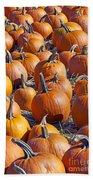 Pumpkin Harvest Bath Towel