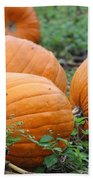 Pumpkin Pie Bath Towel