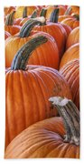Pumpkins Galore - Autumn - Halloween Bath Towel