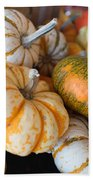 Pumpkins On Pumpkin Patch Bath Towel