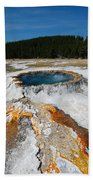 Punch Bowl Spring In Yellowstone Bath Towel