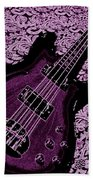 Purple Bass Bath Towel