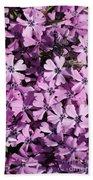 Purple Beauty Phlox Bath Towel