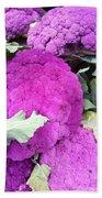 Purple Cauliflower Bath Towel
