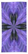 Purple Fantasy Bath Towel