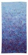 Purple Gradient Bath Towel