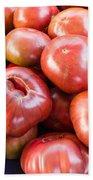 Purple Heirloom Tomatoes  Bath Towel
