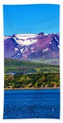 Purple Mountain Majesty Bath Towel