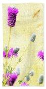 Purple Passion Texture Bath Towel
