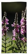 Purple Wild Flowers - 1 Bath Towel