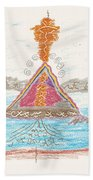 Pyramid Lake - Nevada Bath Towel