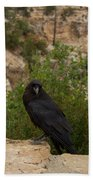 Qouth The Raven Nevermore Bath Towel