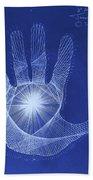 Quantum Hand Through My Eyes Hand Towel