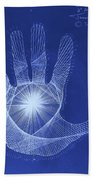 Quantum Hand Through My Eyes Bath Towel