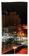 Queen City Winter Wonderland After The Storm Series 0015 Bath Towel