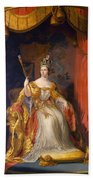 Queen Victoria Of England (1819-1901) Bath Towel