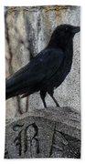 R Is For Raven Bath Towel