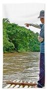Rafting Guide On Mae Thang River Near Chiang Mai-thailand Bath Towel