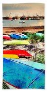 Rainbow Fleet Bath Towel