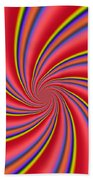 Rainbow Swirls Bath Towel