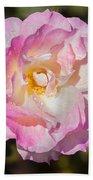 Raindrops On Rose Petals Bath Towel