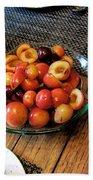 Rainier Cherries - Yummy Bath Towel