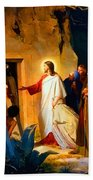 Raising Of Lazarus Bath Towel