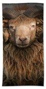 Ram Portrait Bath Towel