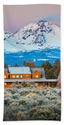 Ranch House And Sisters Bath Towel