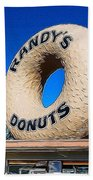 Randy's Donuts Bath Towel