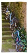 Range Of Bikes Bath Towel