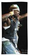 Rapper Fifty Cent Bath Towel
