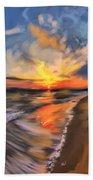 Rare California Sunset Bath Towel