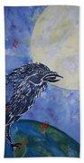 Raven Speak Bath Towel