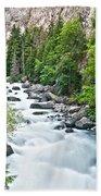 ravine in Verney Dora Bath Towel