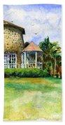 Rawlin's Plantation Inn St. Kitts Hand Towel