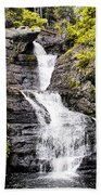 Raymondskill Falls In Milford Pa Bath Towel