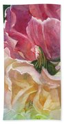 Red-amber-green Hand Towel