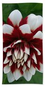Red And White Hand Towel