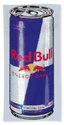 Red Bull Ode To Andy Warhol Bath Towel